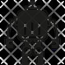 Robot Bot Cartoon Icon