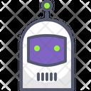 Robot Clown Emot Icon