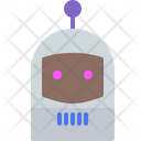 Robot Clown Emot Icon
