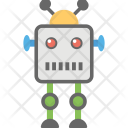 Robot Android Bionic Icon
