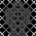 Robot Automaton Robot Futuristic Icon