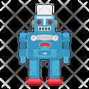 Robot Technology Intelligent Icon