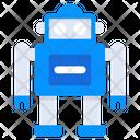 Robot Bionic Man Humanoid Icon