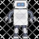 Robot Cyborg Intelligence Icon