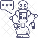 Robot Intelligence Technology Icon
