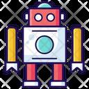Robot Ai Bionic Man Icon