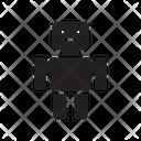 Robotics Auto Manufacture Icon