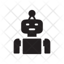 Robot Robotics Manufacture Icon