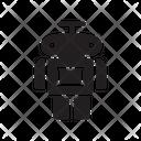 Robot Robotics Auto Icon
