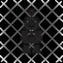 Robot Auto Machine Icon