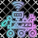 Robot Mar Rover Icon