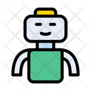Robot Science Technology Icon