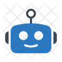 Robot Face Toy Icon