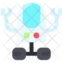 Robot Hand Space Icon
