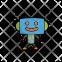 Robot Vector Technology Icon