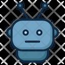 Robot Internet Network Icon