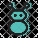 Robot Technology Cyborg Icon