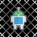 Robotics Alien Monster Icon