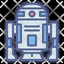 D Robot Starwars Icon