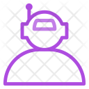 Automatic Machine Robot Icon