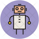 Robot Cartoon Animated Icon