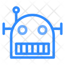 Robot Head Tchnology Icon