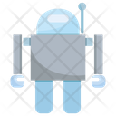 Robot Artificial Intelligence Robotics Icon