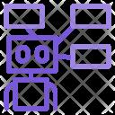 Robot Techonology Machine Icon
