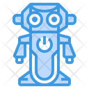 Robot Big Eye Toy Icon