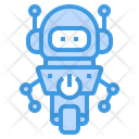 Robot Racing Toy Icon