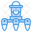 Robot Space Technological Icon