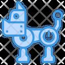Robot Toy Dog Icon