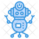 Robot Toy Machine Icon