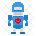 Robot Army Fighter Icon