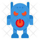 Robot Avatar Angry Icon