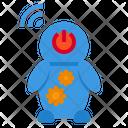 Robot Control Gear Icon