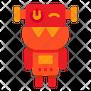 Robot Dog Cyborg Icon