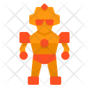 Robot Fighter Army Icon
