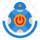 Robot Machine Eletronics Icon