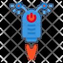 Robot Machine Space Icon