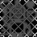Robot Bot Machine Icon