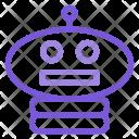 Robot Head Programming Icon