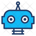 Automatic Robot Cute Icon