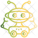 Robot Humanoid Droid Icon