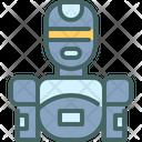 Robotic Machine Future Icon