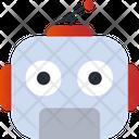 Robot Smiley Avatar Icon