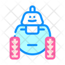 Robot Toy Color Icon
