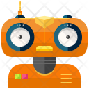 Friendly Robot Science Icon