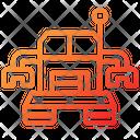 Robot Galaxy Space Icon