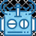 Robot Antenna Signal Icon